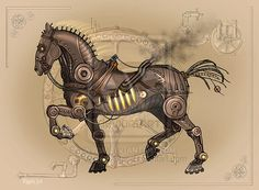 Steam horse. For some reason, this really tickles my funny bone. XD