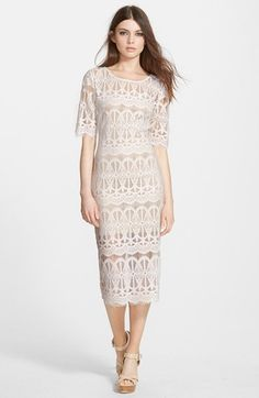 J.O.A.+Lace+Body-Con+Dress+available+at+#Nordstrom