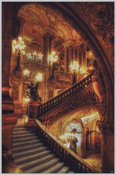 .I love staircases