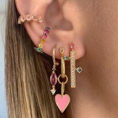 Fake Ear Piercing Rook Rings/Cartilage Ear Cuff/Double Rings/Nose Faux Two Small Rings/ohrklemme ohrclip/helix manschette/ear ohr jacket - Custom Jewelry Ideas Ear Jewelry, Cute Jewelry, Jewelry Gifts, Jewelry Accessories, Body Jewellery, Trendy Accessories, Hippie Jewelry, Vintage Accessories, Jewelry Making