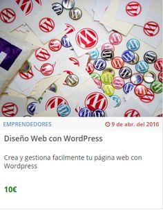 Diseña tu web con WordPress