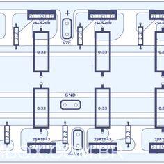 317 best audio amplifier images in 2019 audio amplifier 741 Audio Amplifier Circuit 1000w audio amplifier component placement circuit design, circuit diagram, audio amplifier, printers,
