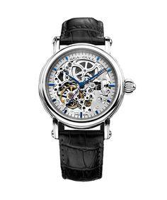 L'une des rares – si ce n'est la seule – montres squelettes disponibles chez Montres-automatiques.com, la Sea-gull Blue Skeleton aussi connut sous son nom de code M182SK, répond à une demande croissante auprès d'amateurs de belles horlogeries de montres a mouvement entièrement apparent et a prix accessibles…