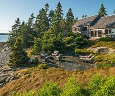 Acadia Point Landscape Project | Virginia Burt Designs