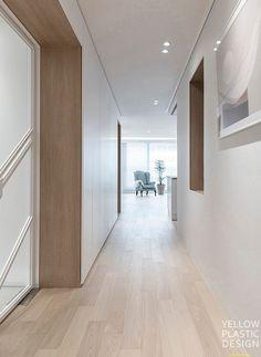 Home Door Design, Cute House, House Doors, Corridor, Downlights, Restaurant Design, Tile Floor, Indoor, Luxury