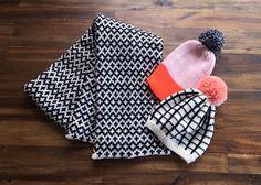 Grid Hat No. 1 by WhiteLodgeKnitwear on Etsy
