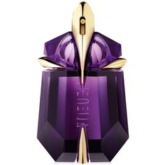 Mugler Alien by Mugler Refillable Eau de Parfum Stone, 1 oz. ($82) ❤ liked on Polyvore featuring beauty products, fragrance, makeup, no color, eau de parfum perfume, thierry mugler, edp perfume, thierry mugler perfume and flower fragrance