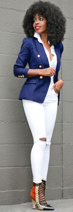 White on white with a touch of green courtesy of Folake of ...