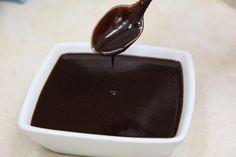 Chocolate Almond Ice Cream Topping