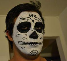 male sugar skull