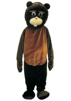 Image of Beaver Mascot Costume