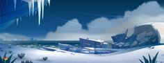 ArtStation - ice/snow design, Cyril Corallo