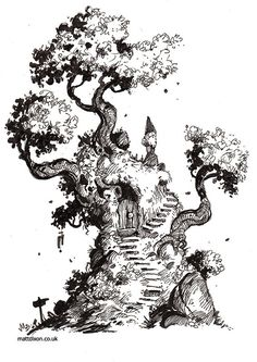 Homepage for illustrator Matt Dixon. Creator of the Transmissions series of robot artwork. Cityscape Drawing, Nature Sketch, Doodle Art Drawing, Zen Art, Urban Sketching, Ink Pen Drawings, Cartoon Art Styles, Art Sketchbook, Art World