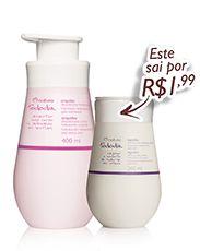 Kit Natura Tododia - Desodorante Hidratante Orquídea - 400ml + Desodorante Hidratante Algodão - 200ml