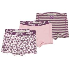 Minymo 3-pk hipster, lilla Hipster, Hipsters, Hipster Outfits