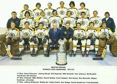 The 1971-72 Boston Bruins.  OMG the hair...!