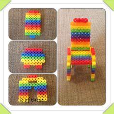 3d perler beads