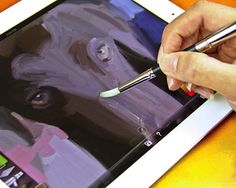 BrushPen for iPhone and iPad - $17 | The Gadget Flow <3 NEED!! Coolest thing i've seen in a while!