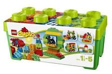Preschool children will love to build and create amazing adventure playgrounds with this LEGO Duplo Large Playground Brick Box 10864 Setl. It includes fun LEGO DUPLO bricks, includ Lego Duplo, Lego Ninjago, Lego Technic, Building Blocks Toys, Building For Kids, Lego Building, Lego Disney, Hot Wheels Juegos, Legos