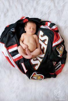 Newborn , Hockey Jersey-Bruins obviously.