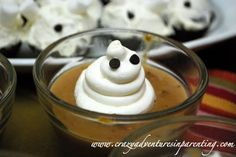 Halloween Recipe: Ghost Pudding with Homemade Whipped Cream Recipe