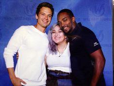 Sebastian, Anthony, and a fan