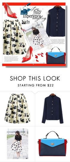 """SheIn#4"" by cherry-bh ❤ liked on Polyvore featuring GALA, Kate Spade and shein"