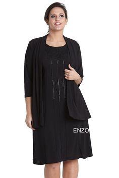 completo abito veste donna lady xl 0362 taglie forti calibrate l xl 2xl 3xl  4xl a4127158498