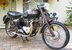 Classifieds Find: 1956 Triumph Tiger - http://barnfinds.com/classifieds-find-1956-triumph-tiger/