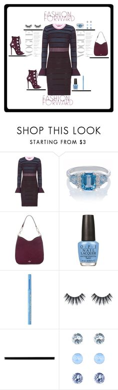 """#Fashion"" by theresagray31 on Polyvore featuring Versace, Kate Spade, OPI, Too Faced Cosmetics, Merola, Accessorize and fall2017"