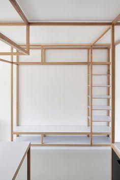 Guest appartement par Mjölk architekti |  Espace vital