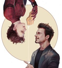 Read Tony x Peter from the story AVENGERS by -_eccedentesiast_- (imcrying) with 71 reads. Marvel Avengers, Marvel Fan Art, Marvel Jokes, Marvel Dc Comics, Marvel Heroes, Superfamily Avengers, Spideypool, Marvel Couples, Die Rächer