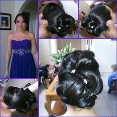 Yoleth's Wedding... Bride's Maid... Hair and Makeup