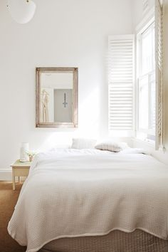 Lighter living - shutters are a practical way to add character.