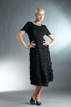 Black Dress for Women / Linen Dress / Black Long by Aistefashion