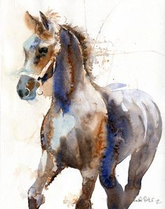 Friesian Horse art Morgan Warmblood Yearling Print of a watercolor Painting Big Large Huge Girls Teens Horse Lover Unique Gift Watercolor Horse, Watercolor Animals, Watercolor Paintings, Watercolors, Animal Paintings, Animal Drawings, Horse Paintings, Arte Equina, Friesian Horse