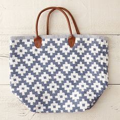 Dotted Diamonds Tote