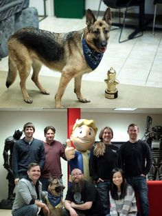 Dogmeat From #Fallout Won the #Award for Top Video Game Dog! http://ibeebz.com