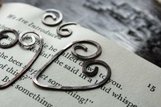 Wire Heart Bookmarks~