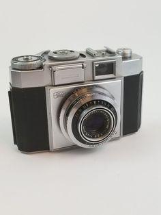 6b51e085e1 Vintage Zeiss Ikon Prontor-SVS Contina Film Camera 45mm Lens Novicar  Anastigmat