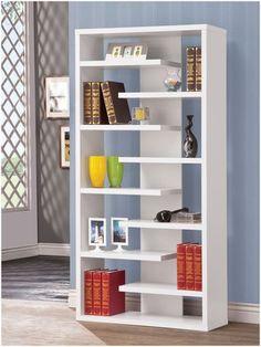Casa.com Coaster Bookshelf, White