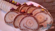 Jednoduchý na přípravu a skvělý na chuť! Czech Recipes, Ethnic Recipes, Different Cakes, Sweet Recipes, Baked Goods, Sushi, Nutella, Favorite Recipes, Treats
