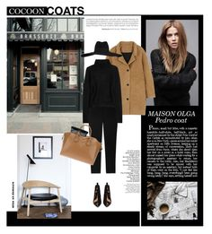 """""""Pedro Coat"""" by revan ❤ liked on Polyvore featuring MAISON OLGA, Acne Studios, Theory, T By Alexander Wang, Givenchy, CÉLINE, Yves Saint Laurent, Trendy, trend and polyvoreeditorial"""