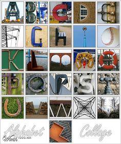 H3H: Alphabet Collage - Worth1000 Contests