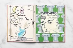 Greco Disco: The Art & Design of Luke Edward Hall is a beautiful project designed by Luke Edward Hall & Zan Goodman which has been featured by Mindsparkle Mag´s best of design. Edward Hall, Artist Journal, Maila, Book Signing, Artist Art, Graphic Illustration, Sunsets, Art Inspo, Book Worms