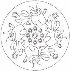 Yoga For Preschool Age Mandala Coloring, Colouring Pages, Coloring Sheets, Adult Coloring, Coloring Books, Mandalas Painting, Mandalas Drawing, Toddler Poses, Preschool Age
