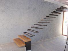 Как сделать консольную лестницу