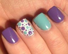 U as decoracion on pinterest animal prints manicures - Unas decoradas con esmalte ...