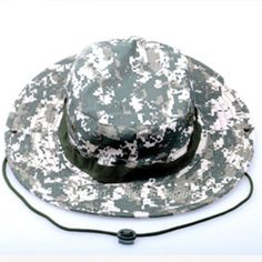 30d23984e19 New Military Camouflage Bucket Hats Fisherman Sunscreen Hats