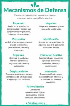 Mecanismo de defensa Psychology Facts, Emotional Intelligence, Art Therapy, Good To Know, Counseling, Awakening, Mindfulness, Learning, Health